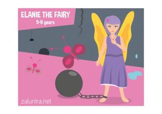 Elanie the Fairy - 5-6 years